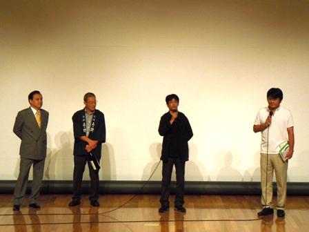 降りてゆく生き方(舞台挨拶).JPG